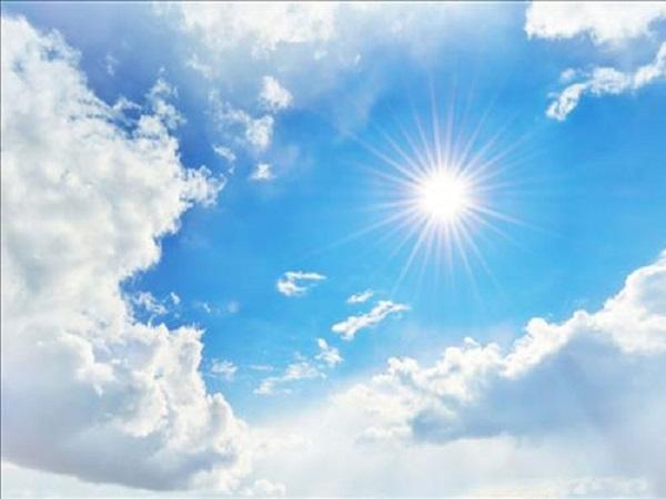 nằm mơ thấy trời nắng