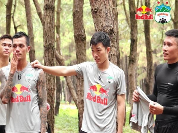 Bóng đá Việt Nam 22/7; Hoàng Anh Gia Lai lên núi tập luyện