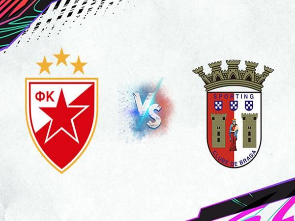 Nhận định kết quả Crvena Zvezda vs Braga, 23h45 ngày 16/9 Cup C2